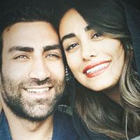 نازنین کیوانی و همسرش آرش مهاجر + زندگی شخصی