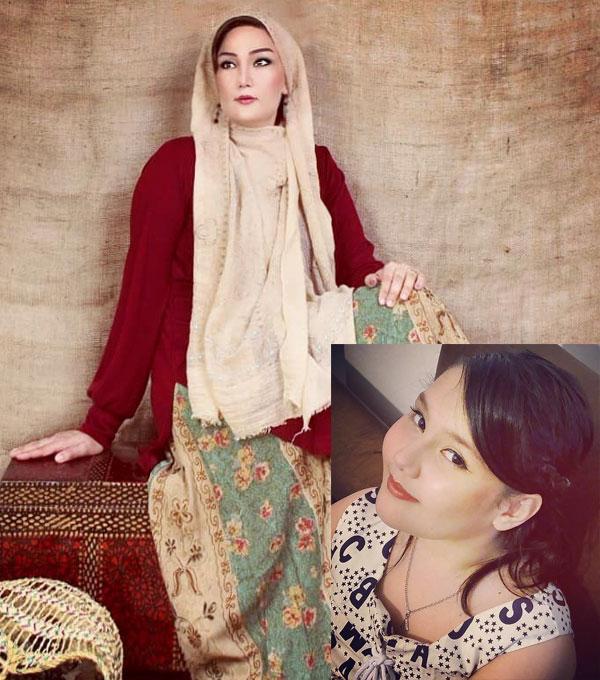 ندا حبیبی بازیگر و دخترش عسل + بیوگرافی کامل