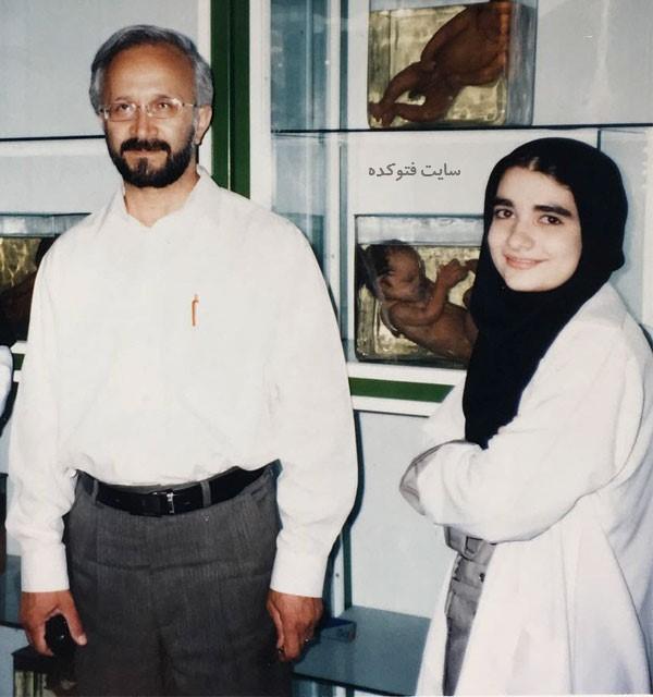 عکس های دانشجویی ندا یاسی در ایران و رشته مامایی