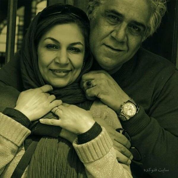 نگار استخر و همسرش شهرام + بیوگرافی کامل