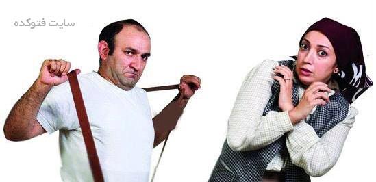 عکس نگار عابدی و همسرش سابقش هدایت هاشمی
