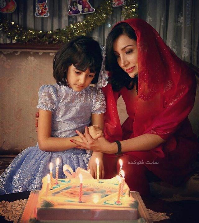عکس نگار عابدی و دخترش اما + بیوگرافی کامل