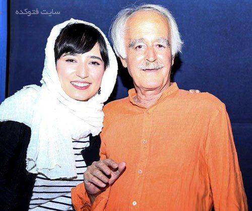 عکس نگار جواهریان و پدرش + خانواده