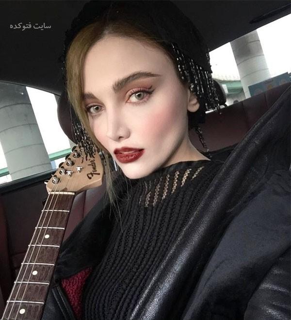 عکس بیوگرافی نگین پارسا خواننده