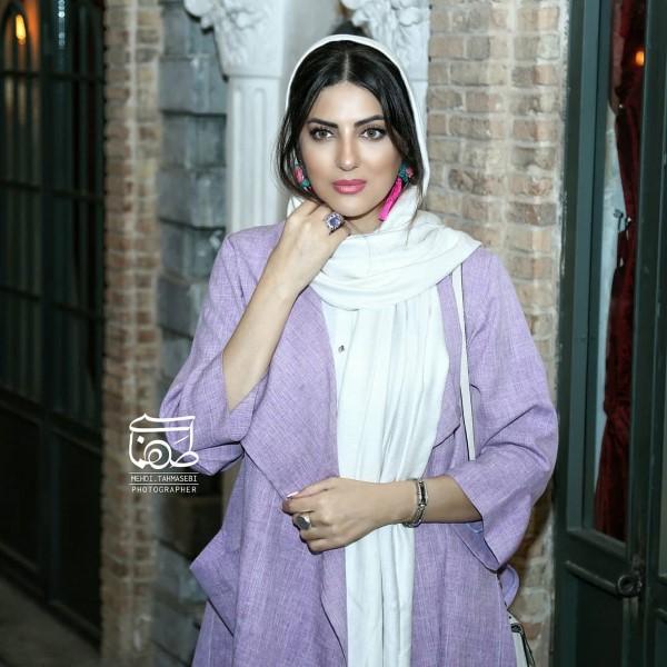 عکس بازیگران بدون سانسور تیر 98 خانم هلیا امامی