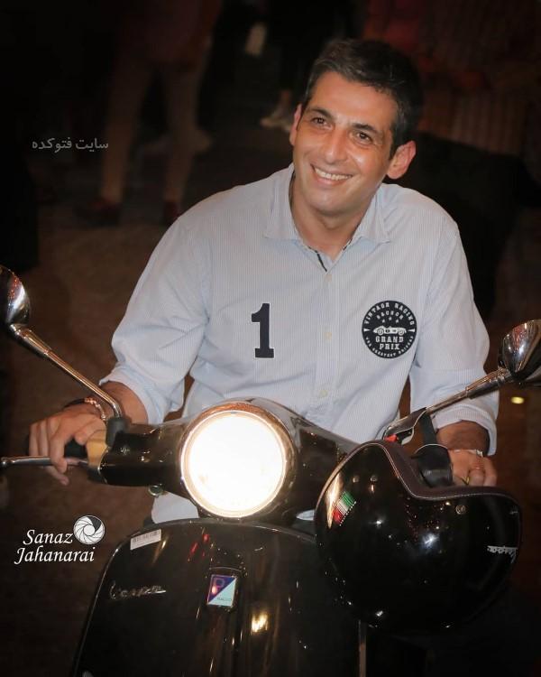 حمید گودرزی بازیگر و مجری در عکس بازیگران تیر 98