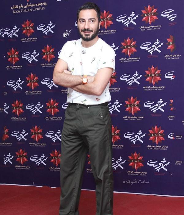 نوید محمدزاده در عکس لباس بازیگران مرد تیر 98