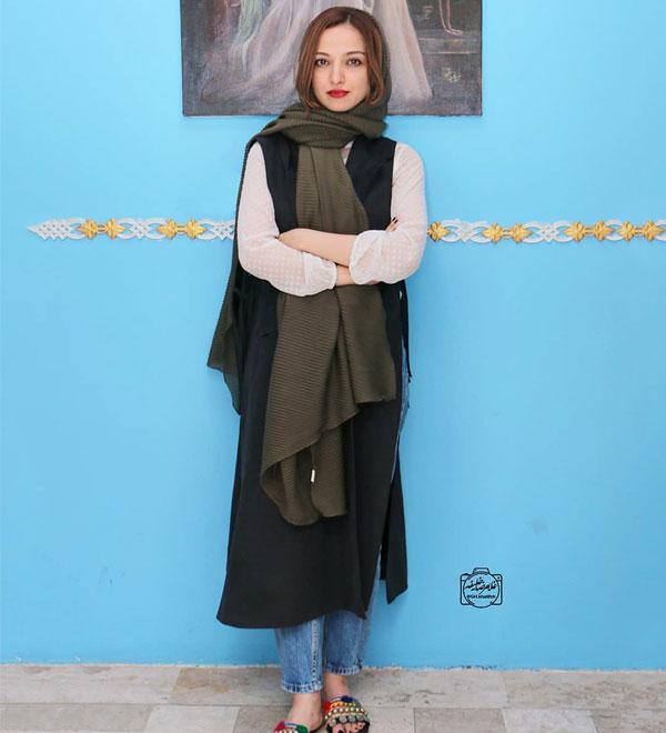 عکس جدید ندا عقیقی در مدل لباس بازیگران زن تیر 98