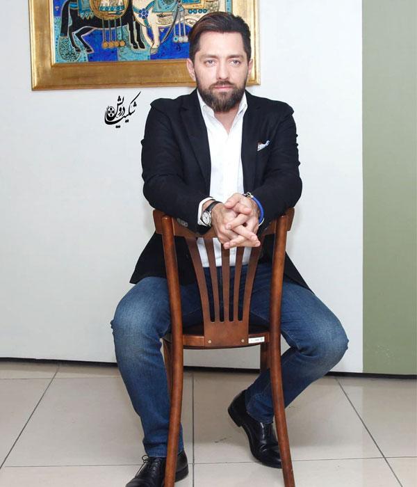عکس مدل لباس بازیگران مرد بهرام رادان در تیر 98