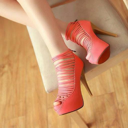 مدلهای کفش مجلسی زنانه 2014 بندی و حشری