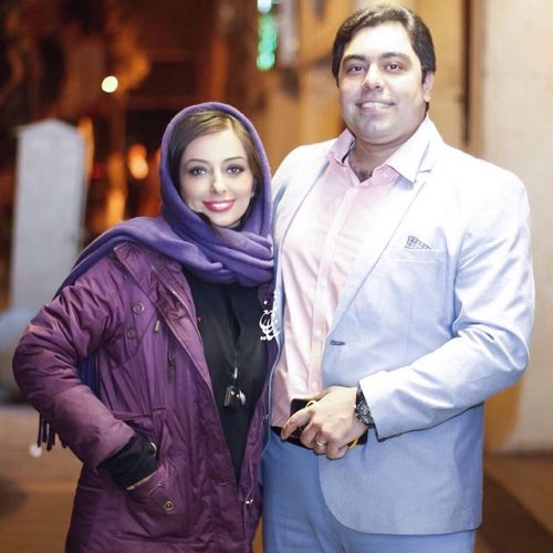 عکس جدید نفیسه روشن و همسرش