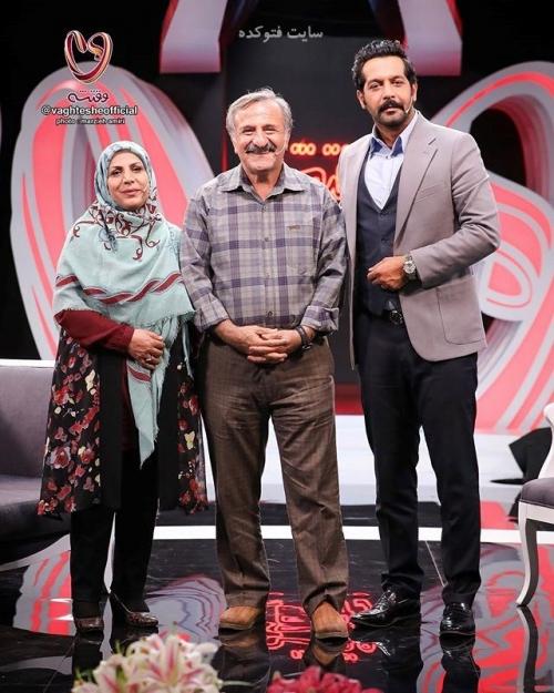 عکس جدیدمهران رجبی و همسرش در کنار کامران تفتی