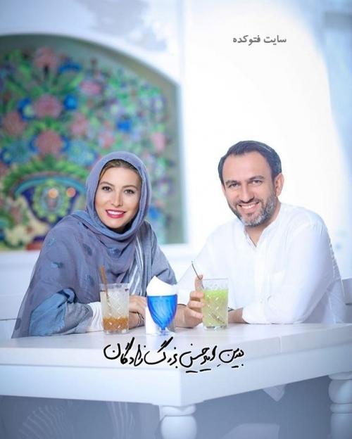 عکس جدید فریبا نادری و همسر دومش