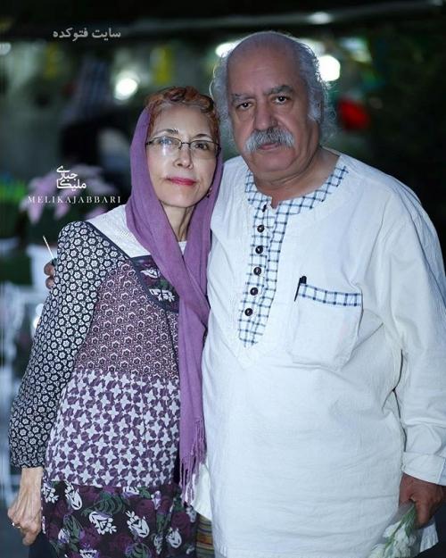 عکس جدیدبهزاد فراهانی و همسرش فهیمه رحیم نیا