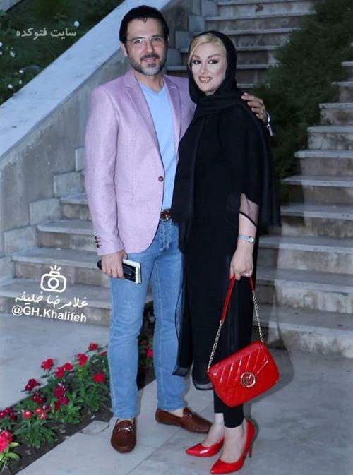 عکس جدیدکوروش تهامی و همسرش پونه یزدانی