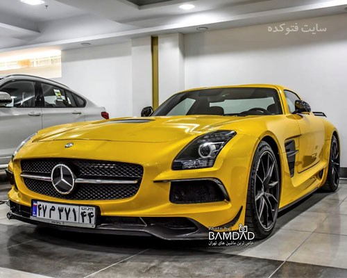 عکس ماشین Mercedes BENZ SLS AMG Blackseries