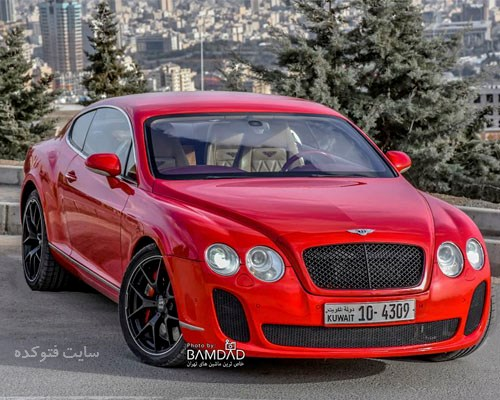 عکس ماشین Bentley Continental GT
