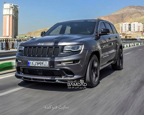 عکس ماشین Jeep Grand Cherokee SRT8