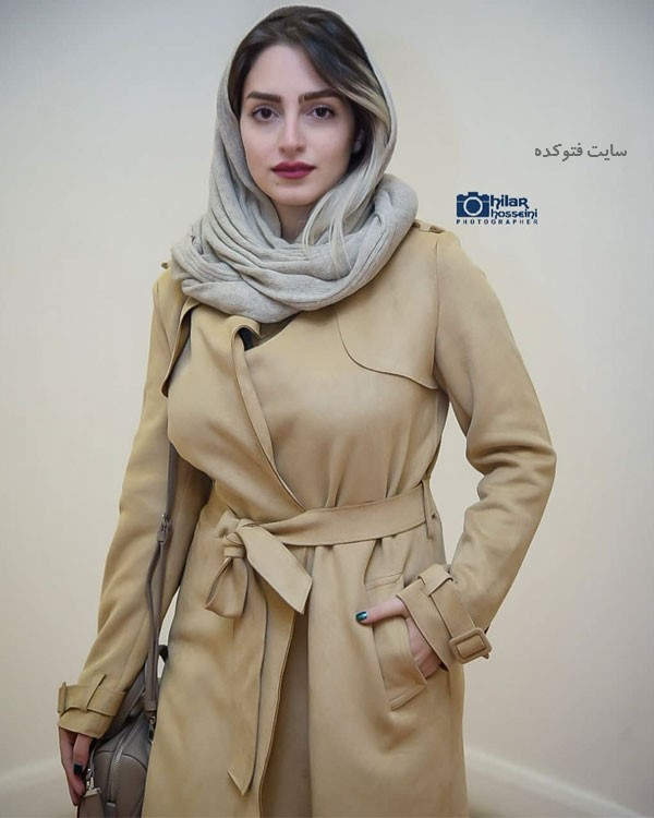 عکس مانتو بازیگران آذر 97 نهال دشتی
