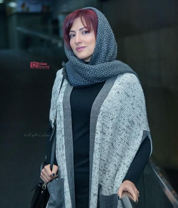 عکس مانتو بازیگران آذر 97 سمیرا حسینی