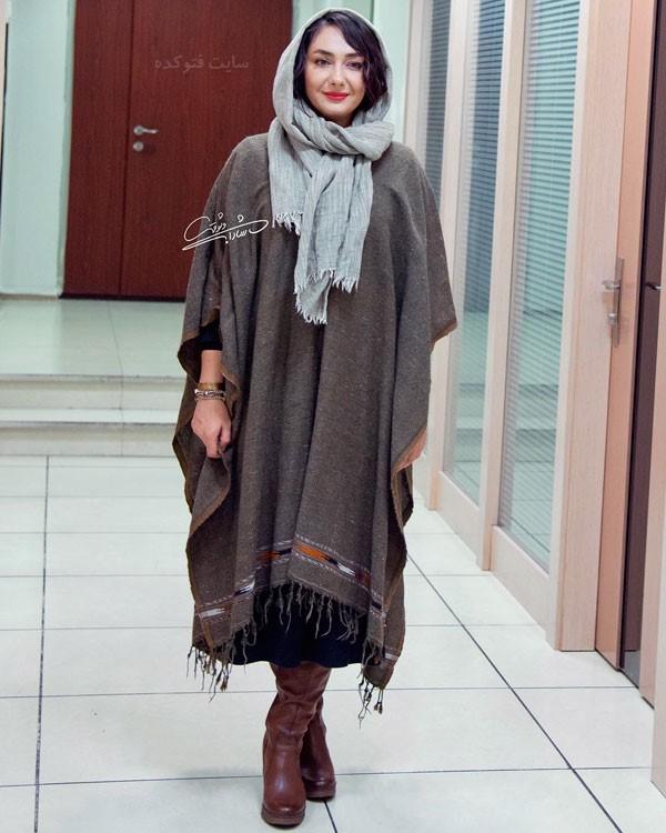 مدل مانتو بازیگران زن در آذر 97 هانیه توسلی