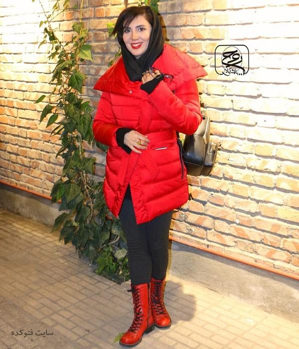 مدل مانتو بازیگران زن در آذر 97 لیلا بلوکات