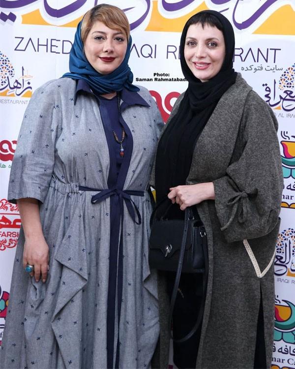 بازیگران زن آذر 97 رویا میرعلمی و زهرا داوود نژاد