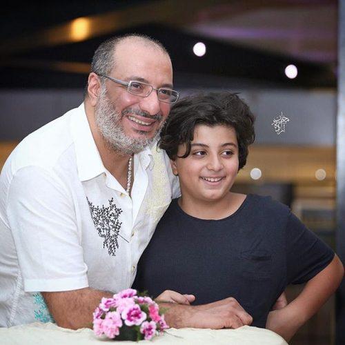 عکس امیر جعفری و پسرش آیین در مرداد 96 + بیوگرافی