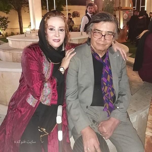 عکس بدون سانسور بازیگران ایرانی شیوا خسرومهر در بغل رضا رویگری
