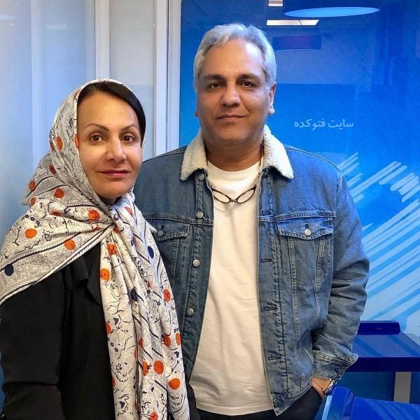 عکس و بیوگرافی مهران مدیری و همسرش