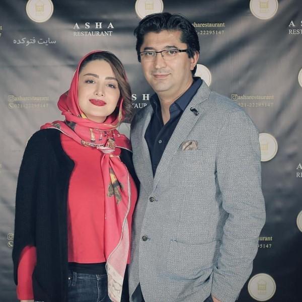 عکس و بیوگرافی شیلا خداداد و همسرش