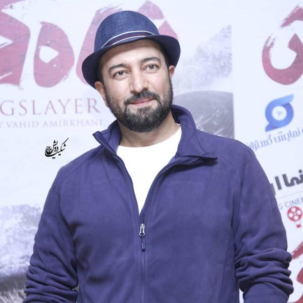 مجید صالحی در عکس بازیگران مرد آبان 98