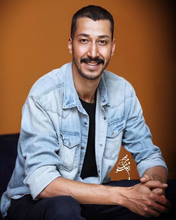 بهرام افشاری در عکس بازیگران مرد آبان 98