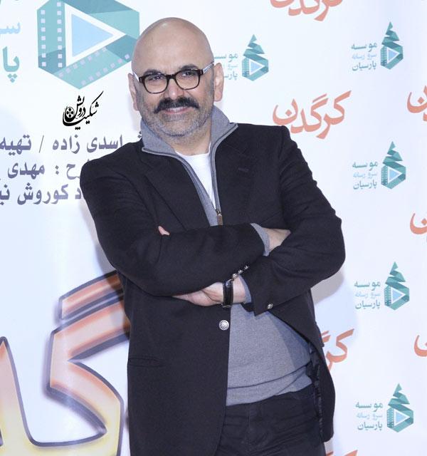 حبیب رضایی در عکس بازیگران مرد آبان 98