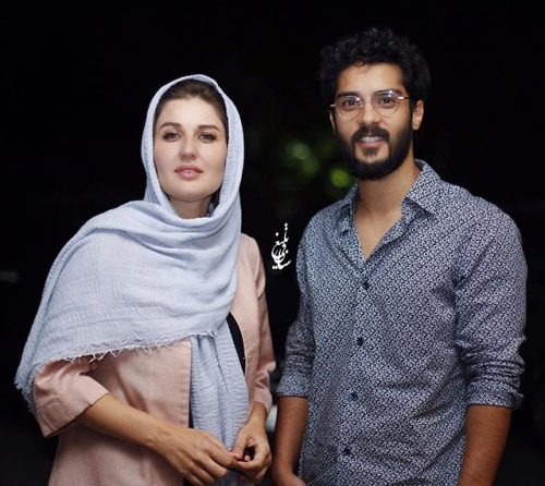 عکس جدید ساعد سهیلی و همسرش گلوریا هاردی