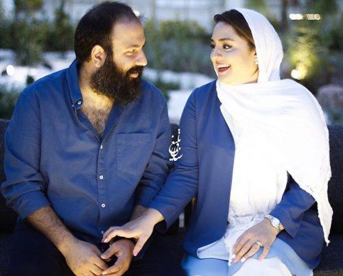 عکس جدید نرگس محمدی و همسرش علی اوجی