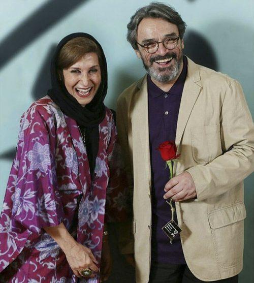 عکس حسین علیزاده و فاطمه معتمدآریا