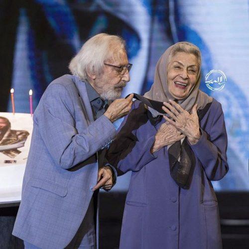 عکس ژالو علو با جمشید مشایخی