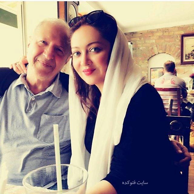 عکس جدید نیکی کریمی Niki Karimi و پدرش در خارج
