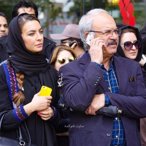 عکس غلامرضا نیکخواه و دخترش نیلوفر + بیوگرافی کامل