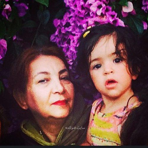 عکس همسر غلامرضا نیکخواه + نوه اش + بیوگرافی کامل