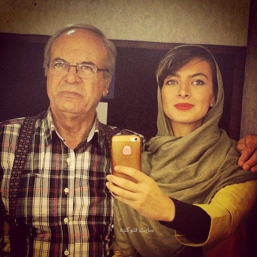 عکس نیلوفر نیکخواه دخترش غلامرضا نیکخواه + بیوگرافی