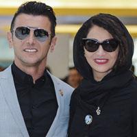 نیلوفر خوش خلق و همسرش امین حیایی + زندگی از خارج تا ایران