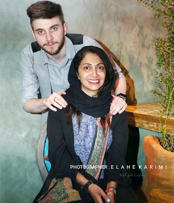 عکس نیلوفر خوش خلق و دارا حیایی پسر همسرش