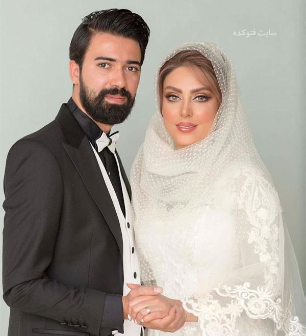 همسر نیلوفر شهیدی با عکس ازدواج