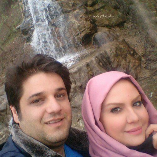 عکس نیلوفر امینی فر و همسرش ایمان احمدی + بیوگرافی کامل