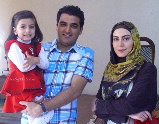 عکس نیلوفر شهیدی و همسرش + بیوگرافی