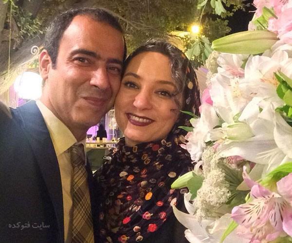 عکس دونفره نیما فلاح و همسرش سحر ولدبیگی