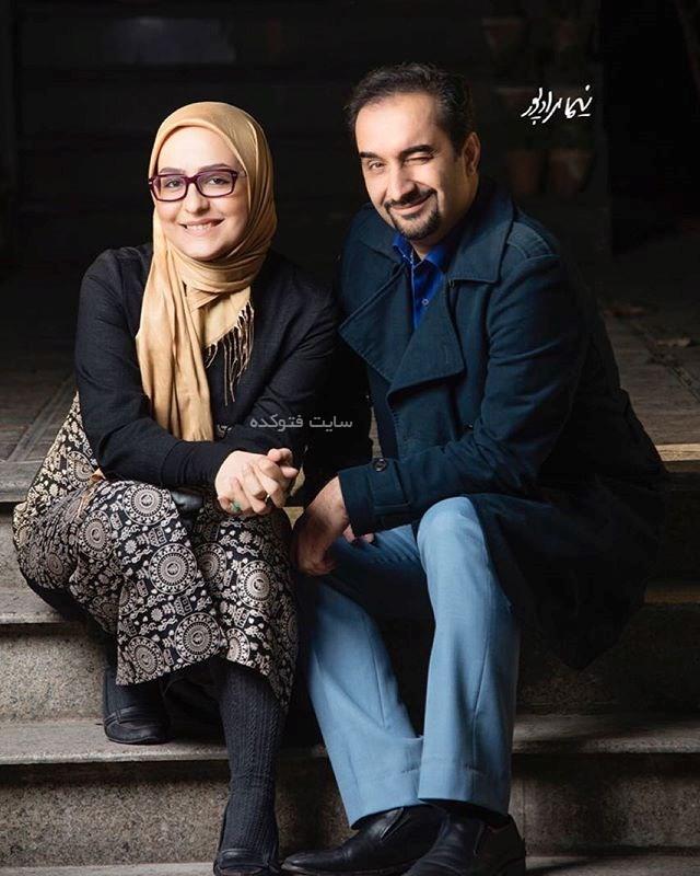 عکس نیما کرمی و همسرش زینب زارع + بیوگرافی کامل