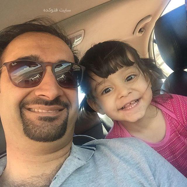 عکس نیما کرمی و دخترش نیل + بیوگرافی کامل